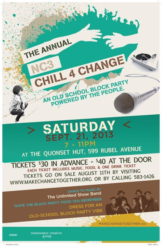 neighborhood block party fundraiser