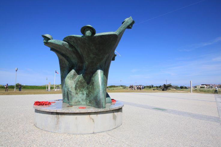 The Canadian #war memorial at Juno Beach #Normandy RenovationBootcamp.com