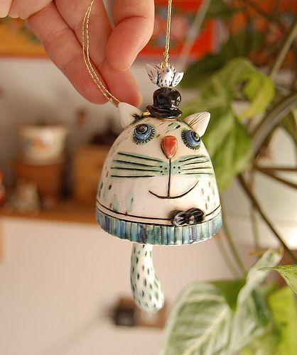 Small cat bell | Flickr - Photo Sharing!