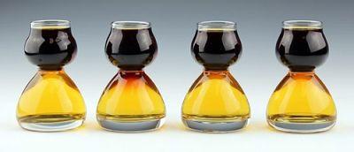 Jager Bomb Shot Glass Set - Four Glasses