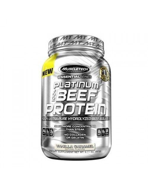 Muscletech Essential Series Platinum %100 Beef Protein 907 Gr