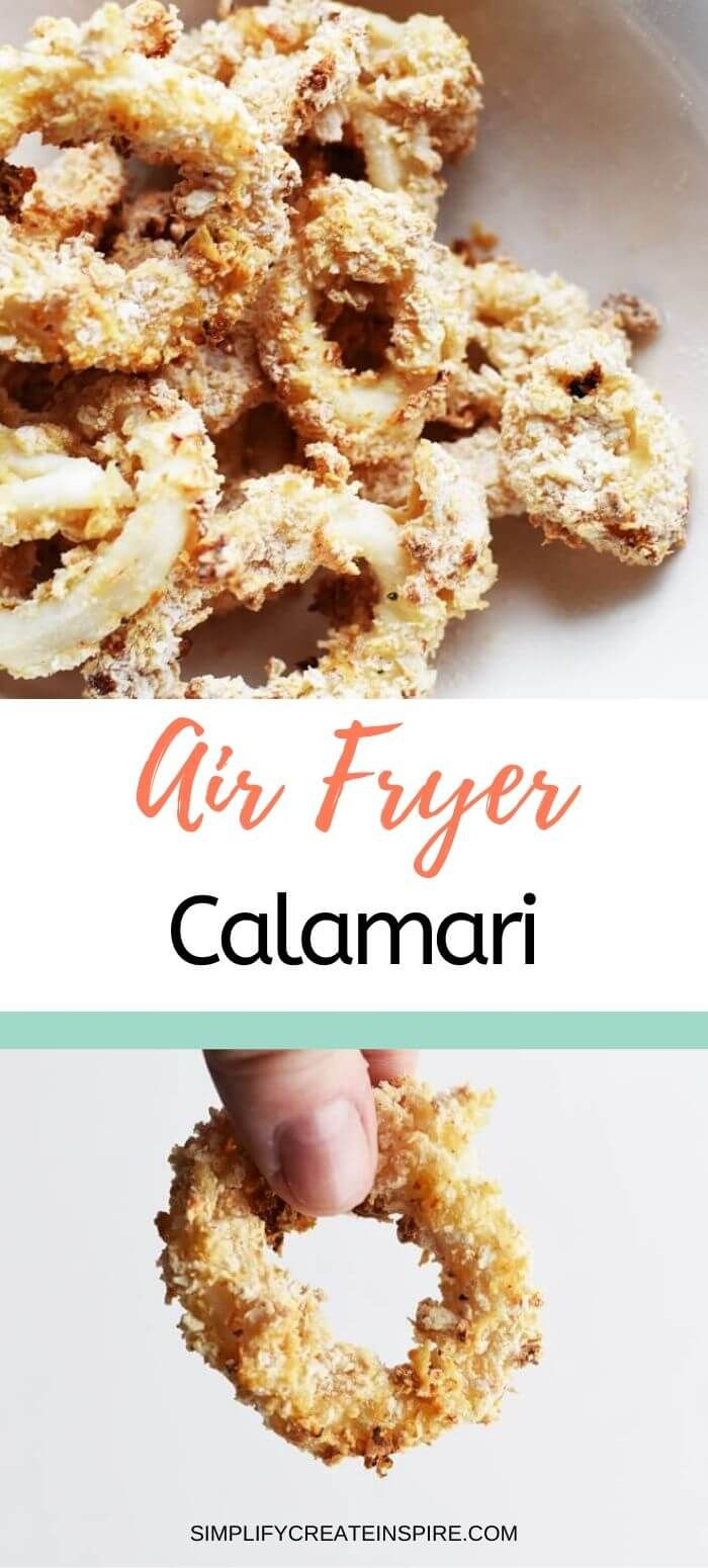 Salt & Pepper Air Fryer Calamari Recipe in 2020 Air