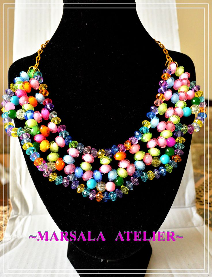 Crazy Colours Necklace