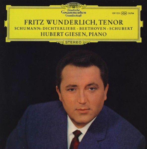"""""""Lieder Von Beethoven, Schubert Und Schumann"""" (Fritz Wunderlich) 1966."""