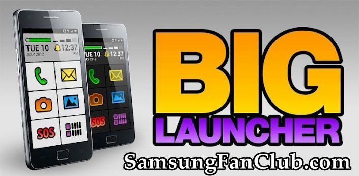 BIG Launcher App for Samsung Galaxy S7 | S8 | S9 | Note 8