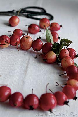 Cherry wreath