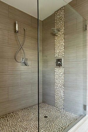 Kiezelstenen douche badkamer pinterest laundry and interiors - Tuinuitleg met kiezelstenen ...