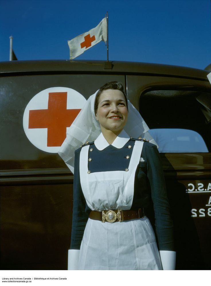 By the end of World War II, 4,480 Canadian Nursing Sisters served in the military, with 3,656 in the army, 481 with the air force, and 343 with the navy. #ww2 #cdnhistory