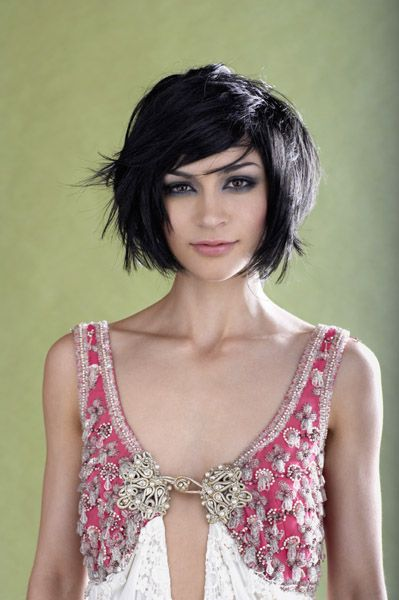 Short style for thick hair