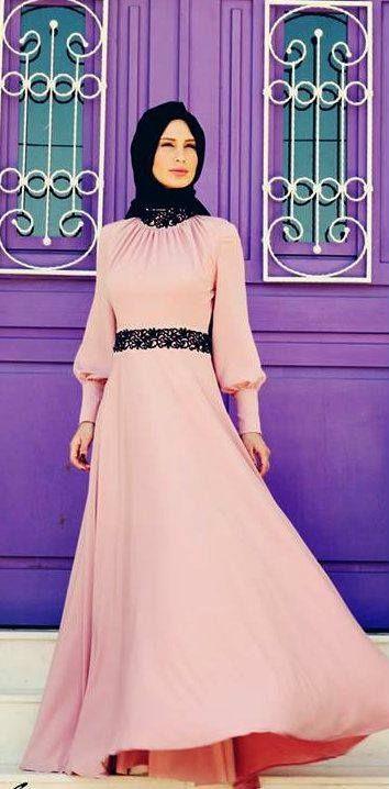 Modest long dress