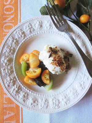 【ELLE a table】金柑のシェリー風味のマチェドニアレシピ|エル・オンライン