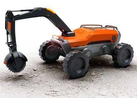 Autonomous Fire Guard Concept Robot by Aydin Mert