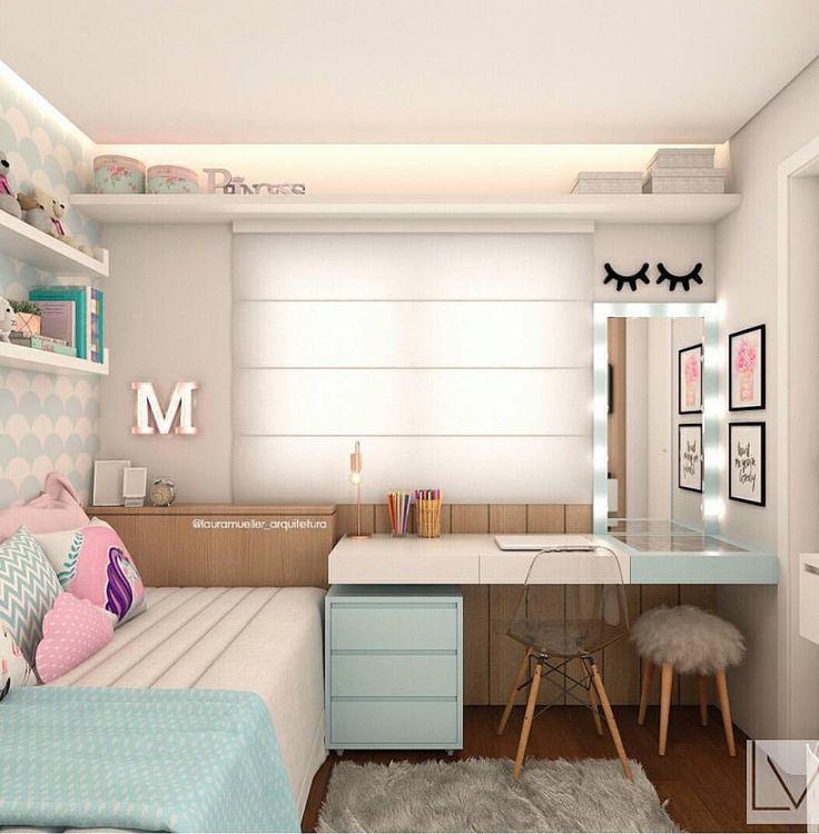 Милая мини комната, всё подобрано