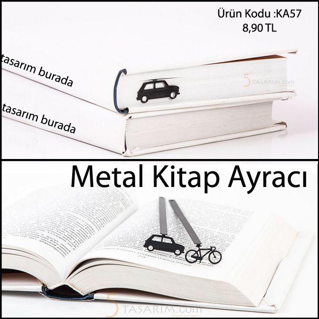 arabalı kitap ayracı ve fiyatları