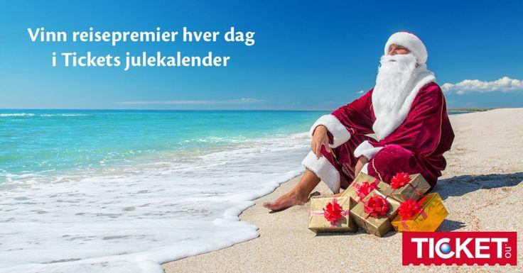 Delta i Tickets julekalender!