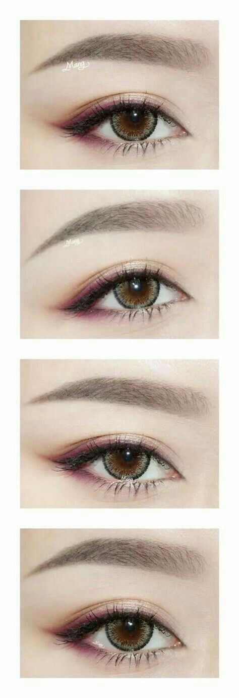 With A Touch Of Wine Purple Eyeshadow