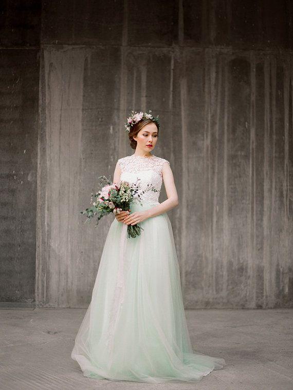 Vesta / / drei Stück Brautkleid Bridal trennt von Milamirabridal