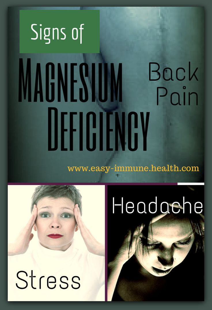 The Signs of Magnesium Deficiency are apparant when you know what to look for...Symptoms of magnesium deficiency are easy to see