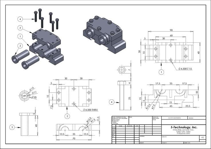 Resultado de imagen de detailed assembly drawing | CAD in ...