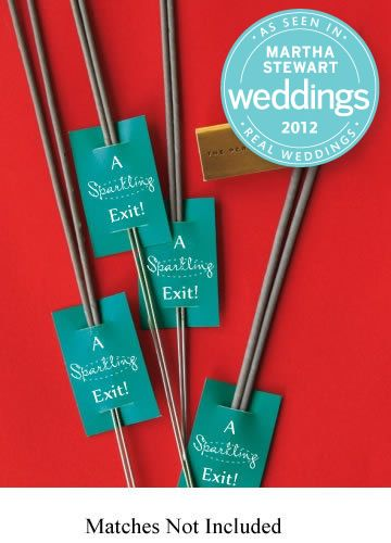 wedding sparklers!!