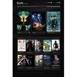 Entertaiment business custom ecommerce website