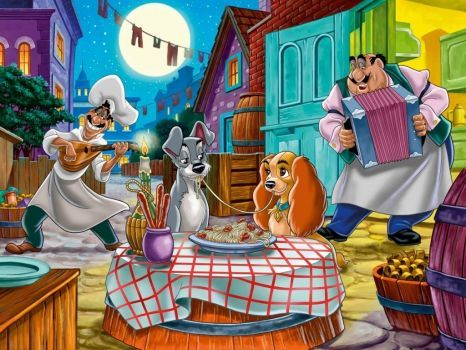 b348664107a6d5395f3a28c37c437bb2 dog cartoons disney art - disney_lady_and_the_tramp_wallpaper-1024x768 (221 pieces)