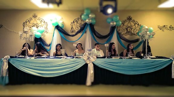 How To Decorate The Xv Head Table In 5 Easy Steps Head