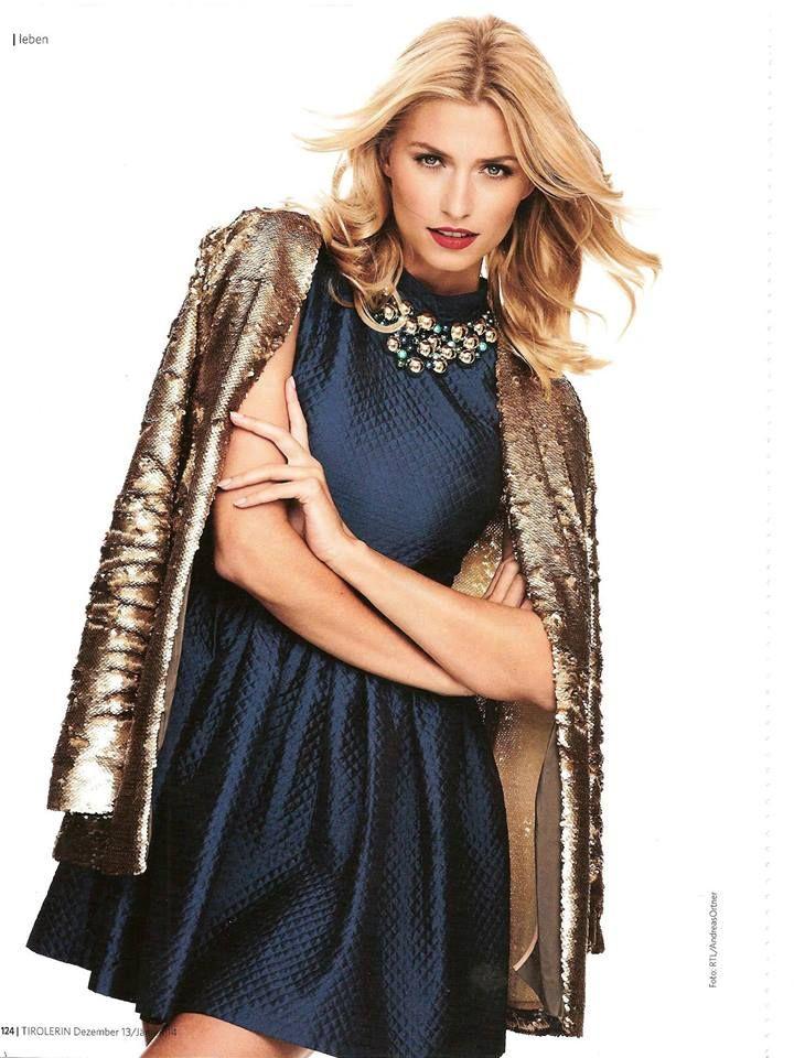Lena Gercke in Dimtri #dimitri #bydimitri #dimitrifashion #lenagercke #topmodel #gntm #rtl #dress