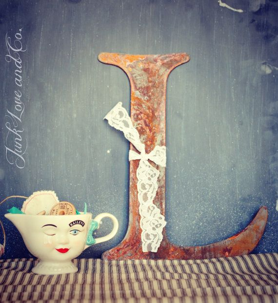 134 Best I Love That Junk Images On Pinterest: 52 Best Rusty Metal Letters Images On Pinterest