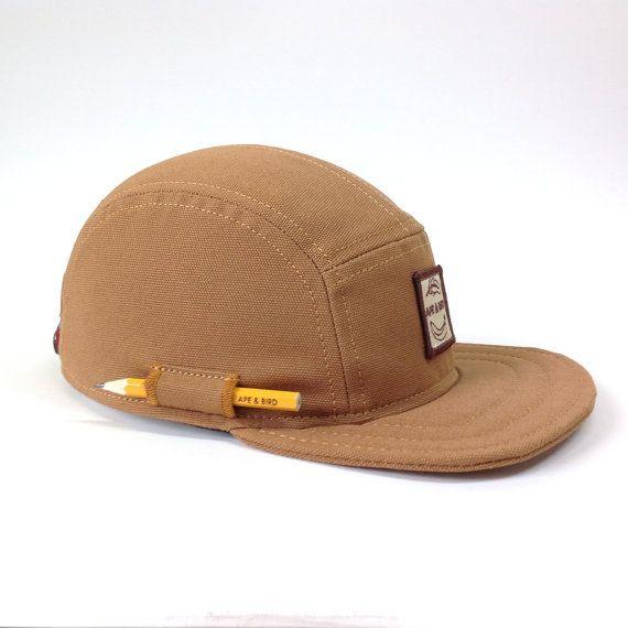 Baseball Cap Pencil Hat Handmade 5 Panel Hat Snapback Hat Five Panel Hat Camper Cap Baseball Hat 5pa Five Panel Hat Panel Hat 5 Panel Hat