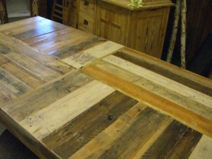 Palettentisch dieser esstisch wurde gefertigt aus for Esstisch aus paletten