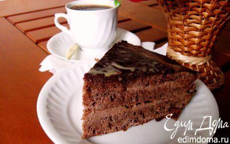 Торт «Прага» классический (Рецепт из Чехии, новые открытия) | Кулинарные рецепты от «Едим дома!»
