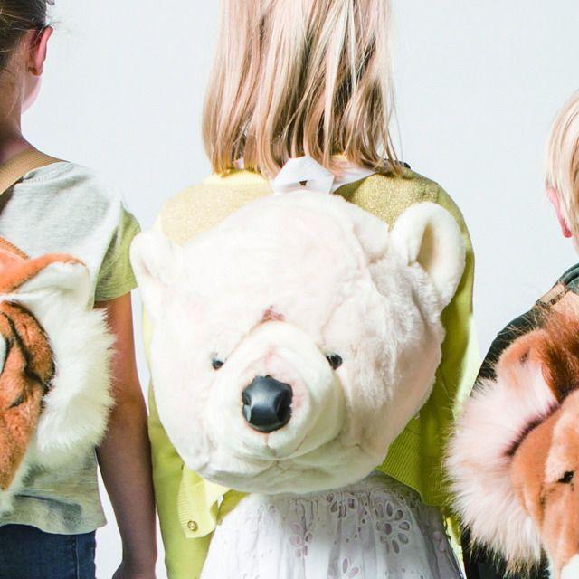Animal Backpack Polar Bear - cuccu-こども服と雑貨のセレクトショップ、クックです。