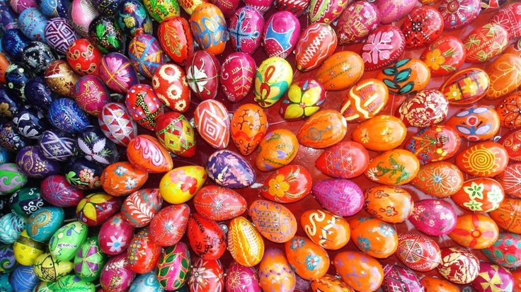 uova colorate...Happy Easter!!