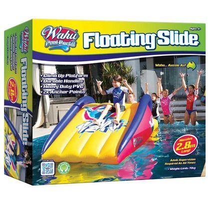 Attractive Wahu Floating Pool Slide