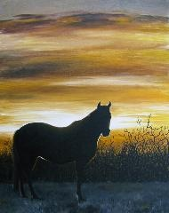 Sunset Sillhouette - Christine Ford