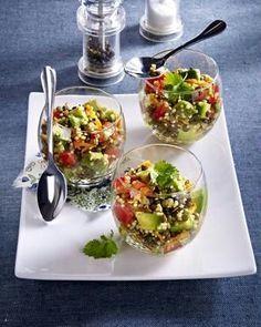 Das Rezept für Bunter Linsen-Quinoa Salat und weitere kostenlose Rezepte auf LECKER.de