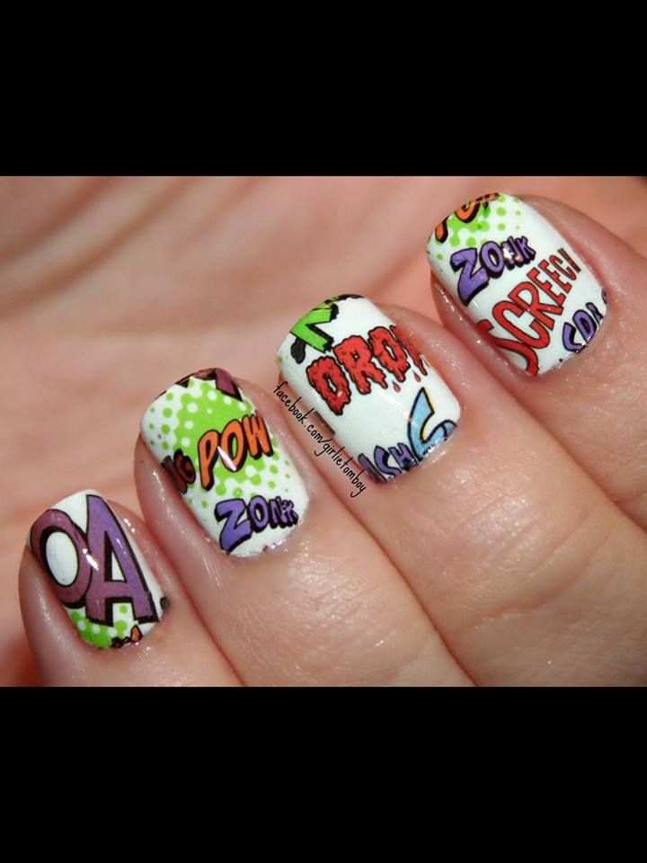 268 best nails images on pinterest nailart aztec nail art and we love jan k girlie tomboy nails she used our heart2art prinsesfo Gallery