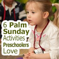 These Easter activities have been specially designed with preschoolers in mind. #kidmin