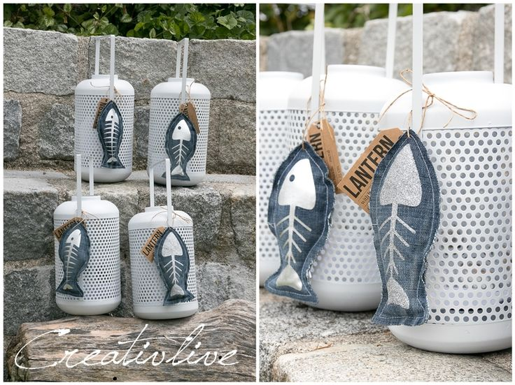 DIY Fischanhänger Jeans Upcycling | creativLIVE
