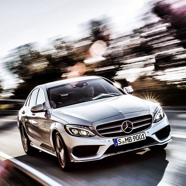 The all-new 2014 Mercedes C-Class in motion. www.truefleet.co.uk