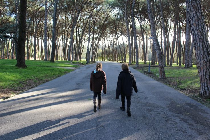 A new place to explore.  The incredible park of Montecatini Terme.   #mytwinsifollow