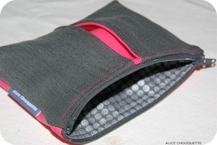 pochette jeans r cup couture pochettes sacs pinterest jeans. Black Bedroom Furniture Sets. Home Design Ideas