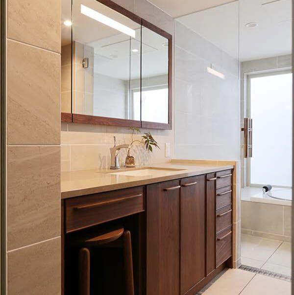 おうちづくりの参考に 思わず心ときめくおしゃれな 洗面所インテリア 10選 Folk バスルームインテリア 洗面所 インテリア