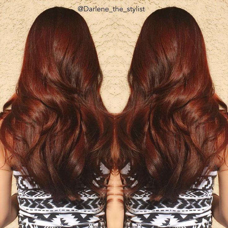 Best 25 Dark Copper Hair Ideas On Pinterest Auburn Hair