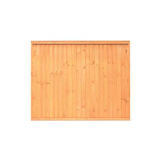 Grange Closeboard Fence Panels 1.83 x 1.8m 4 Pack | Closeboard | Screwfix.com