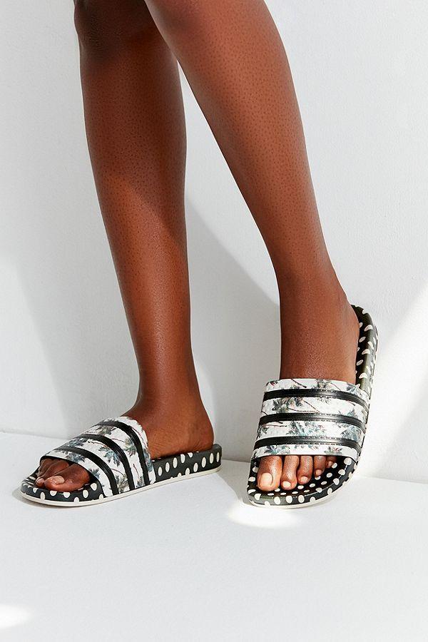 1fcd1d8d7240 adidas Originals Adilette Multi-Print Slide Sandal