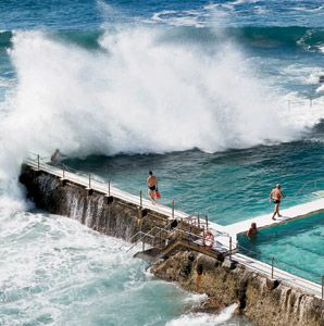101 Places Travelers Should Know about been here! Bondi Beach -Iceburgs!