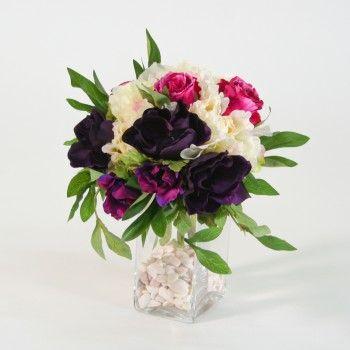 17 best images about bouquets artificiels artificial flowers bouquets on pinterest coupe 3. Black Bedroom Furniture Sets. Home Design Ideas