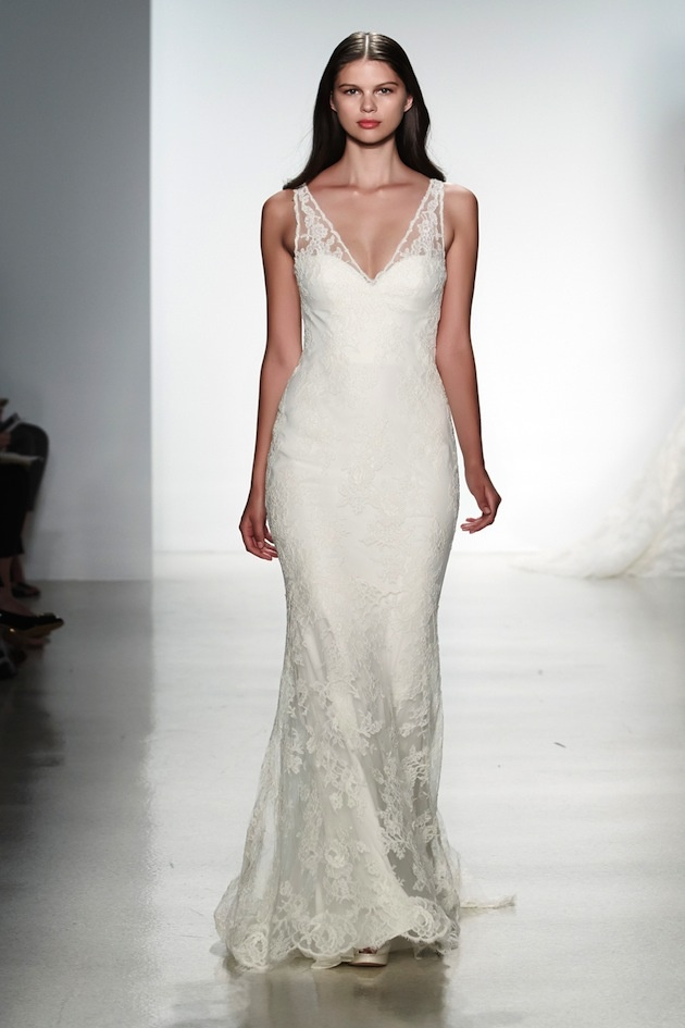 207 best nyc bridal week images on pinterest wedding for Wedding dress for flat chest